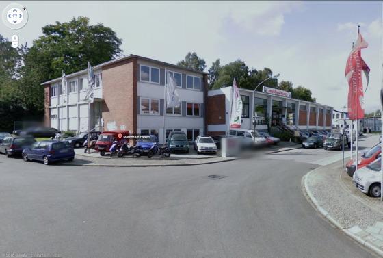 Das Motodrom Essen bei Google Street View