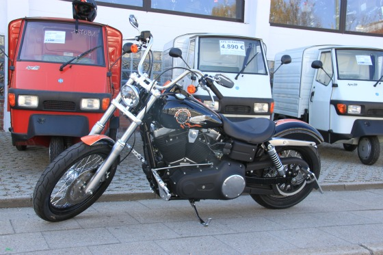 Harley Davidson Street Bob Umbau Motodrom Essen 002