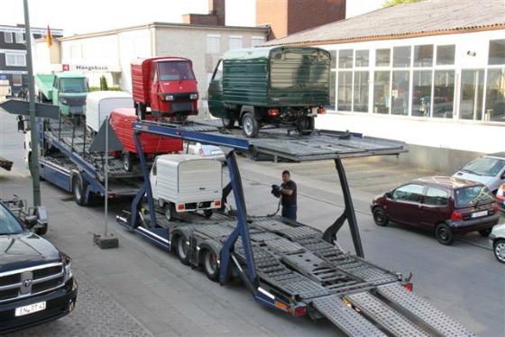 Ein Autotransporter wird zum Ape Transporter 001