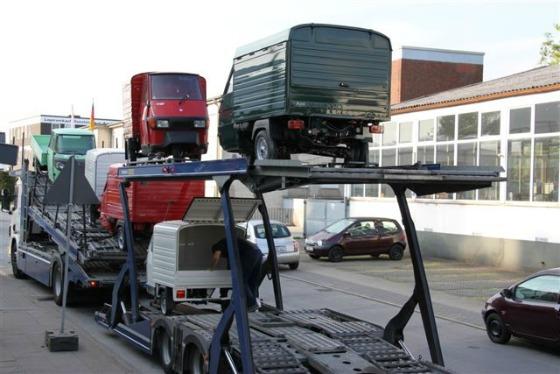 Ein Autotransporter wird zum Ape Transporter 002