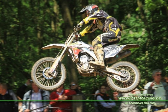 Premiere des Motodrom Racing Teams in der Klasse ADAC MX1