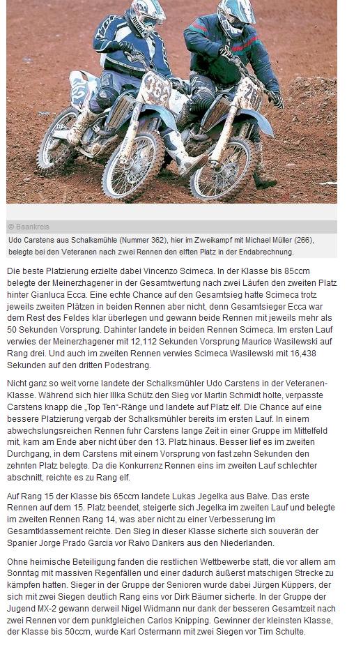 Das Motodrom Racing Team in der Presse