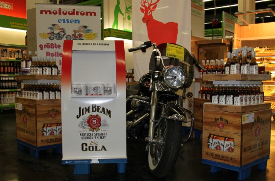 Motodrom stellt Harley für Jim Beam Promotion 4