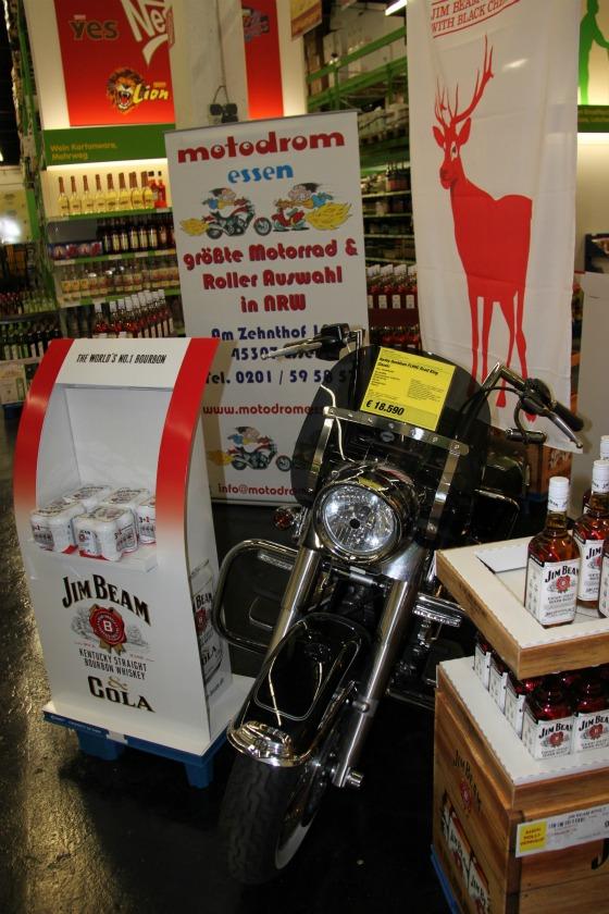 Motodrom stellt Harley für Jim Beam Promotion 5