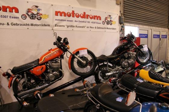 Das Motodrom auf der Techno Classica Essen 2012